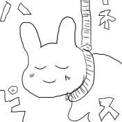 偽漫画神曲(うさぎ)