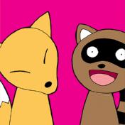 シマシマのネコ